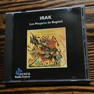 Irak-Maqams-of-Baghdad-Iraq-Ocora-Various-Artists-Audio-CD