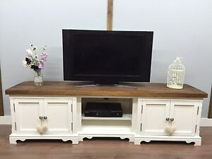 white farmhouse tv stand shabby chic tv unit farmhouse rustic large plasma stand 1296
