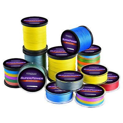 Details about  /KastKing SuperPower Braided Fishing Line 1000m Abrasion Resistant Green Line