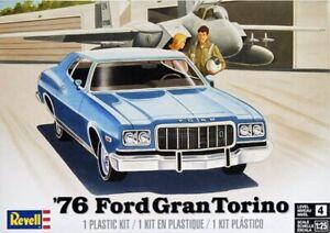 REVELL-MONOGRAM-4412-1-25-1976-Ford-Grand-Torino-Plastic-Model-Car-Kit-FREE-SHIP