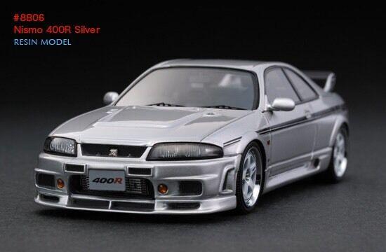 buy 1/43 hpi #8806 nissan skyline gtr r33 nismo 400r silver online