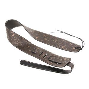 Acoustic-Electric-Guitar-Bass-Leather-Strap-Belt-Length-Adjustable-110-130cm