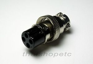 4-Pin-Female-Microphone-Plug-for-Ham-Radio-CB-Mic