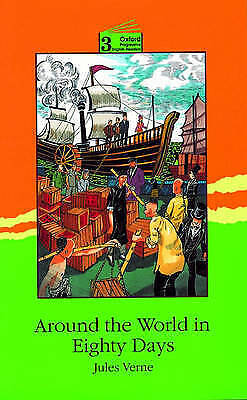(Good)-Around the World in Eighty Days: 3100 Headwords (Oxford Progressive Engli
