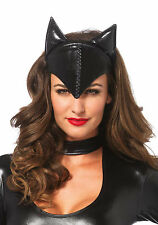 Leg Avenue Feline Femme Fatale Headband Mask Cat Woman Bat Girl Costume A1048
