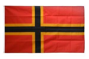Pirat mit zwei Schwertern Stockflagge Flaggen Fahnen Stockfahne 30x45cm