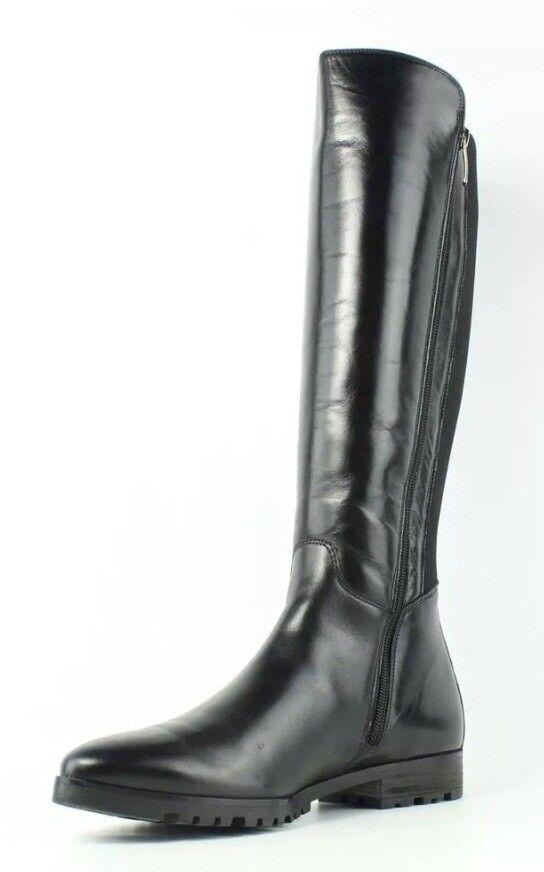 Paul verde Ellery Negro de cuero para mujer mujer para Tall Bota Talla 7 Reino Unido 6517 f9e9b9