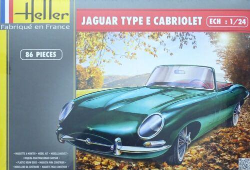 HELLER® 80719 Jaguar Type E 3L8 OTS Cabriolet in 1:24