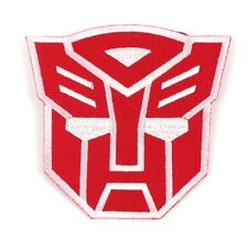 "Transformers Autobots Iron-On Patch 3 1/2"" x 3 1/2"" Licensed PCH-TRS0801"