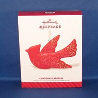 Hallmark - 2014 Christmas Cardinal - Ceramic Bird - Keepsake Ornament -