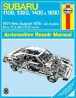 Subaru 1100, 1300, 1400 and 1600: 1971 to 1979 by Bruce Gilmour, J. H. Haynes (Paperback, 1981)