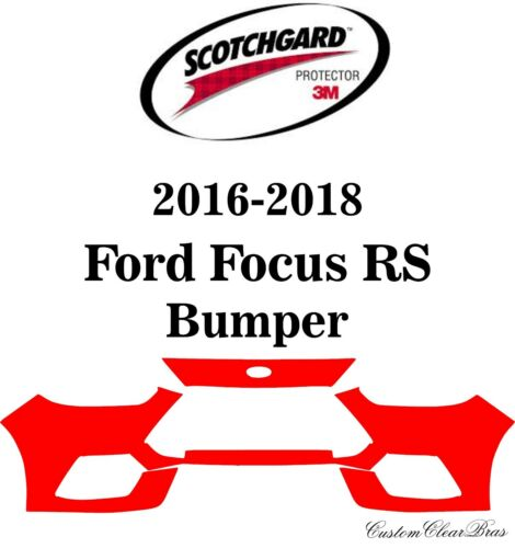3M Scotchgard Paint Protection Film Clear Pre-Cut 2016 2017 2018 Ford Focus RS