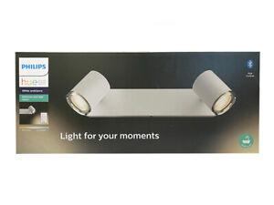 Philips Hue LED-Spot 2er Adore inkl. Dimmschalter Weiß Bluetooth