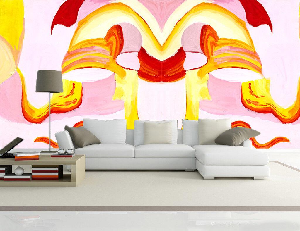 3D Kunst Farbe Abstraktion 72 Tapete Wandgemälde Tapete Tapeten Bild Familie DE