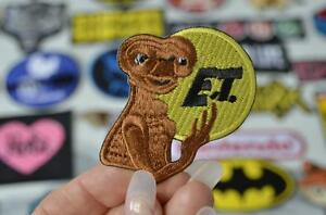 E-T-Retro-Movie-Fabric-EXTRA-TERRESTRIAL-Alien-Patch-Iron-Sew-On-Patches