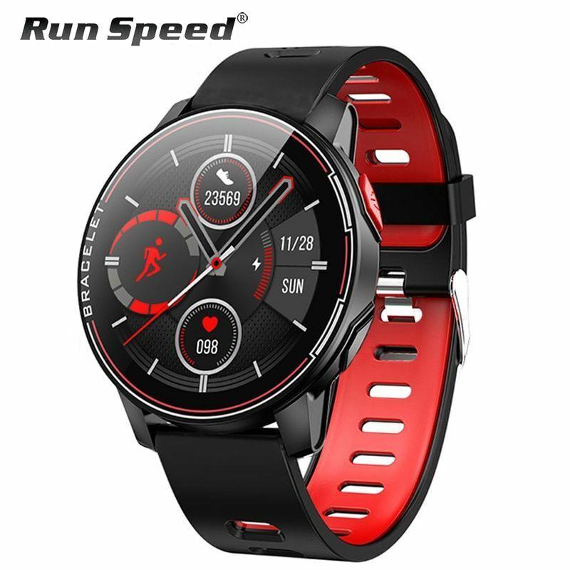 L6 IP68 Waterproof Smart Watch Fitness Tracker Heart Rate Monitor Smart Whatch M