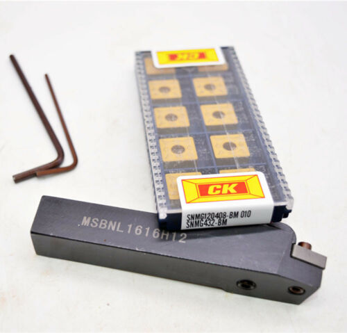 10pcs SNMG120408 SNMG432 BM 010 MSBNL1616H12 Lathe Turning Tool holder