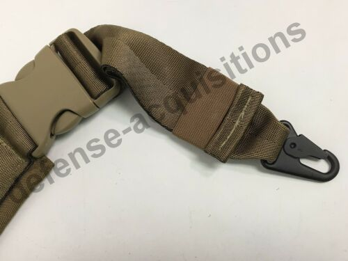 Military Tactical Padded Sling Shoulder Strap COY HK Clips USA MADE COY Buckle