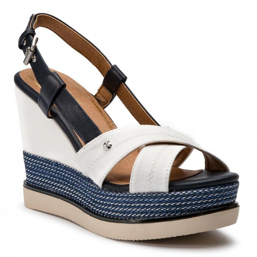 Wrangler Sunny Kelly Women's shoes Sandals Leather Fabric Wedge Plateau Heel