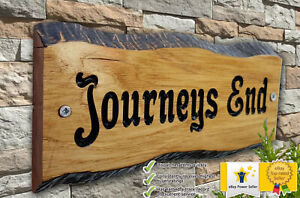 Personalized-Oak-Carved-Wooden-Home-House-Number-Name-Sign-Plaque-Outdoor