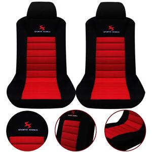 2 x auto sitzbez ge schoner einzelbezug f r pkw van ohne seitenairbag rot as7257 ebay. Black Bedroom Furniture Sets. Home Design Ideas