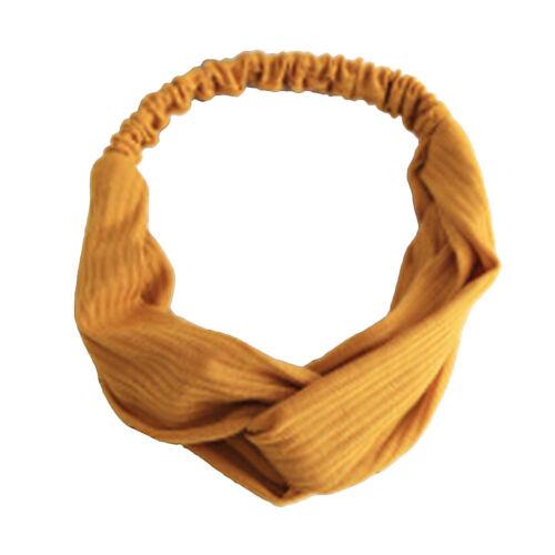 Haarreif Mädchen Stirnband Damen Haarband Haarschmuck Haarspange 4 Arten Farbig
