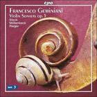 Geminiani: Violin Sonatas (CD, Aug-2007, CPO)