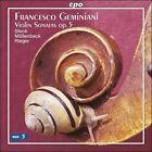 Geminiani: Violin Sonatas (CD, Aug-2007, CPO)