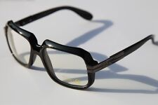 e3e1b592e033 Black Square hipster vintage nerd Sun-Glasses with Clear lens Rapper 80 s