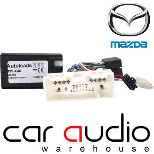 Mazda 6 2002 On Sony Car Stereo Steering Wheel Interface Adaptor Lead