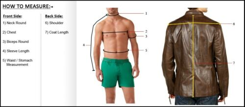 Brand New Men/'s Genuine Designer Lambskin Leather Trench Coat Long Jacket MTC06