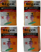 Choose Any Bigen Hair Dye Oriental Black Medium Dark Brown Black Brown Free S&h