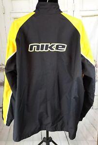 Tag Pista Out Chaqueta rompevientos Colorblock Spell vintage Xxl Gray forrada Nike YRYqHvx
