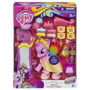 My Little Pony Fashion Style Princess Twilight Sparkle Figure Set NIB Hasbro