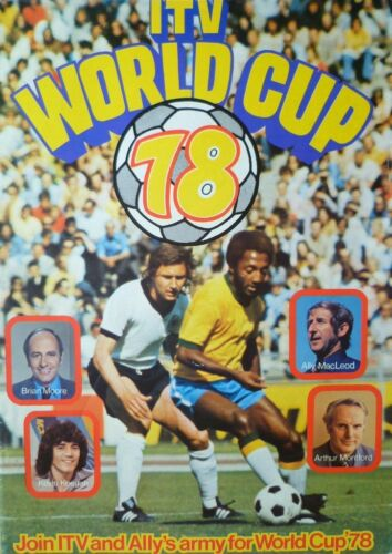 1978 WORLD CUP FINALS TOURNAMENT PROGRAMME ITV UK EDITION