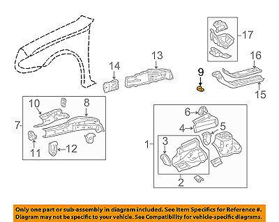 Toyota 47352-35290 Flexible Hose Bracket