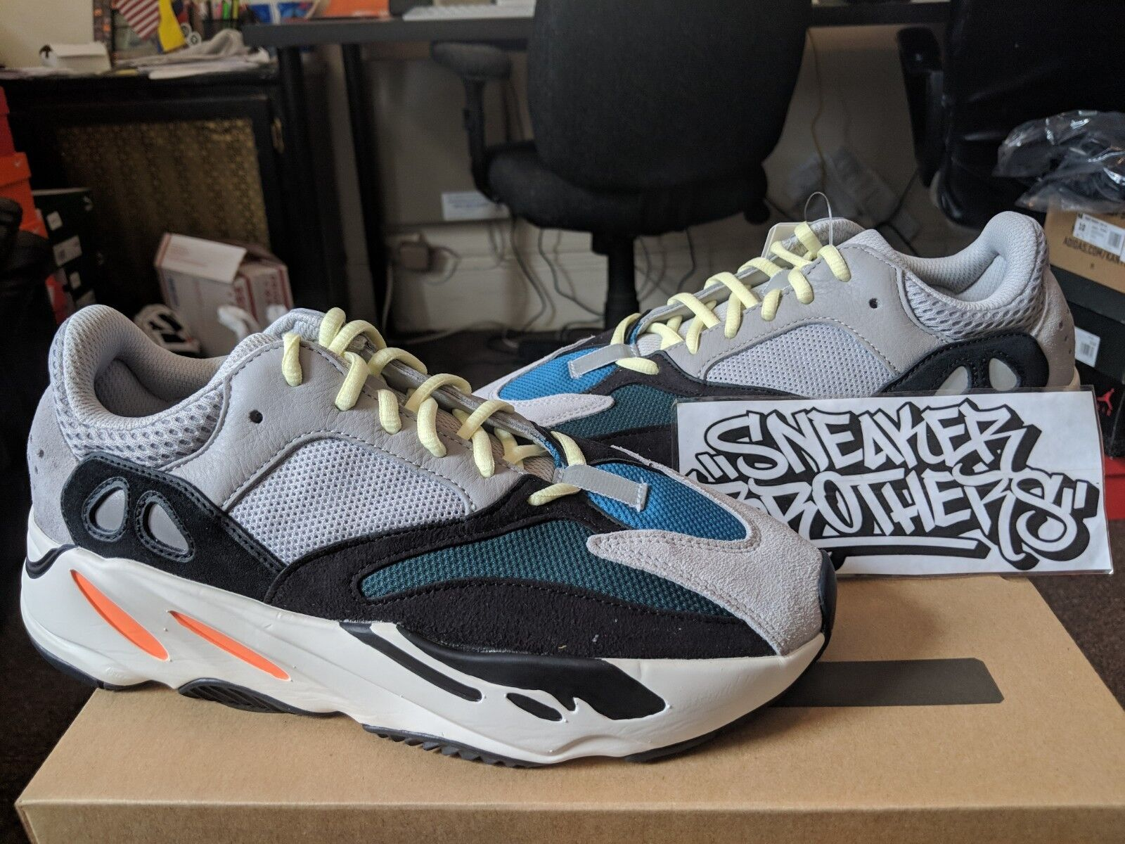 bed88d32ec6 adidas Yeezy Wave Runner 700 B75571 Size 9 for sale online