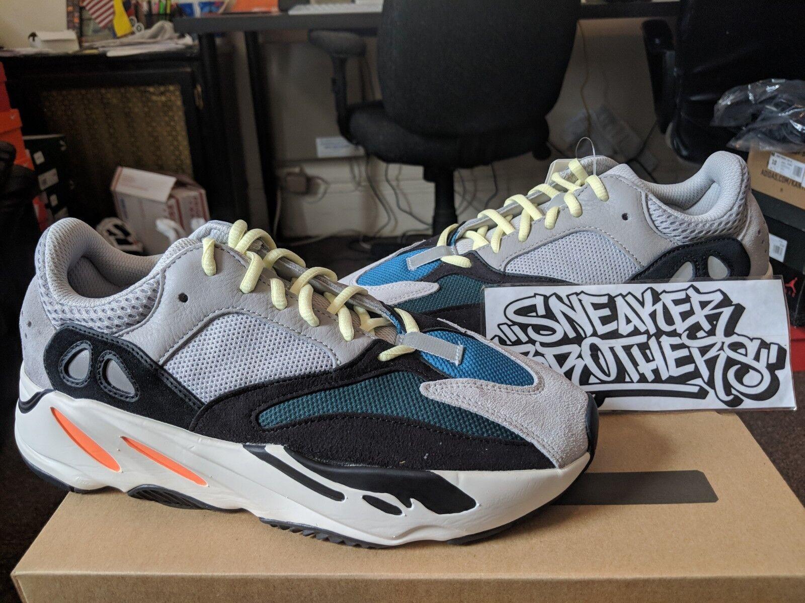 Adidas Yeezy Boost 700 Wave Runner OG Grey Core White Black Kanye West B75571