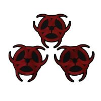 Resident Evil Biohazard Symbol Embroidered Patch Set Of 3