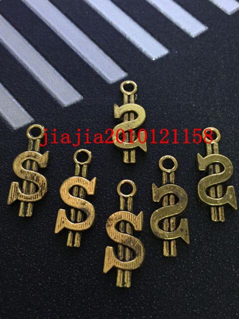 PJ343 15pc Tibetan Gold(Money)Bead Charms Accessories wholesale