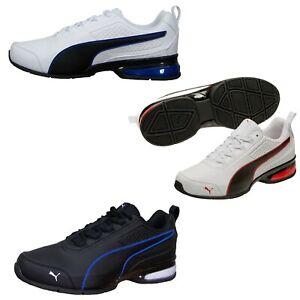 Details zu Puma Herren Schuhe weiß Leader VT SL Sneaker Sportschuhe Laufschuhe 39 48.5