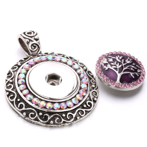 NOUVEAU Pendentif fit for Noosa Collier Snap Chunk Bouton Fashion Jewelry N183