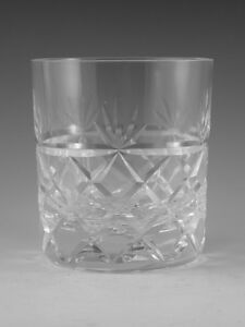 Royal-BRIERLEY-Crystal-BRUCE-Cut-OF-Tumbler-Glass-Glasses-3-1-4