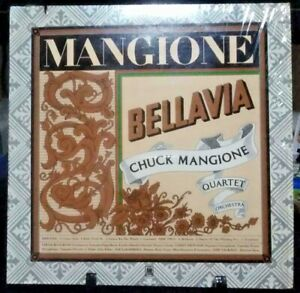 CHUCK MANGIONE QUARTET ORCHESTRA Bellavia Album Released 1975 Vinyl Collection U