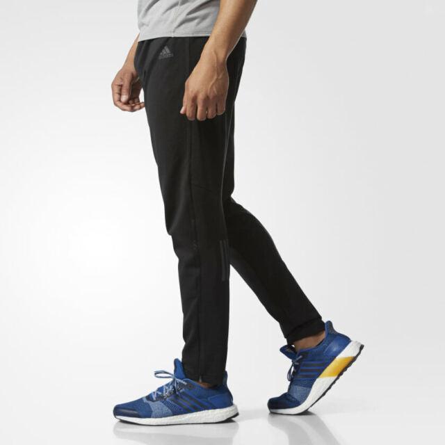 6630838f86c adidas Response Men's Track Black Pants Running Climalite - S99007 ...