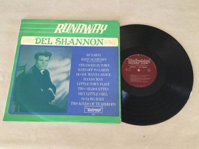 DEL SHANNON RUNAWAY RARE UNIVERSAL AUSTRALIAN RELEASE LP