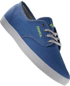 Chaussure Emerica The Textile Skate Neuf Wino Bleu Hommes wHEfrxHq7