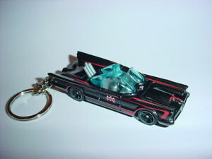 3D 1966 BATMOBILE CUSTOM KEYCHAIN keyring key ring BATMAN & ROBIN TV SERIES! bat