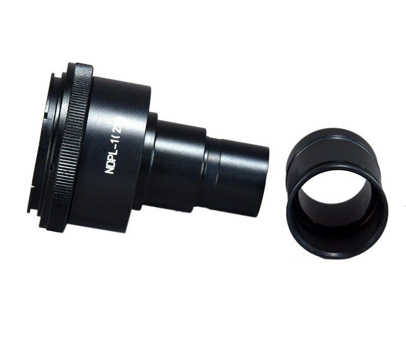 23.2-30.5mm Adapter OMAX Microscope Adapter 4 Canon D-SLR w 2X Lens