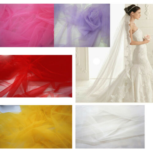 Tulle Roll 6'' Spool Sewing Mesh Fabric DIY Tutu Dress Wedding Decoration